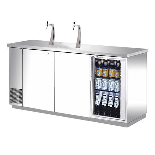 kegerators keg fridges direct draw